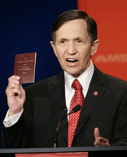 Kucinich gets the boot and another progressive voice is lost