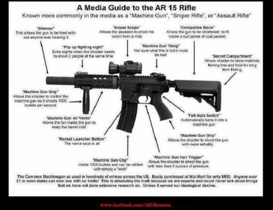 AR-15 assault rifle media guide