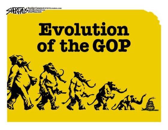 Evolution of the GOP