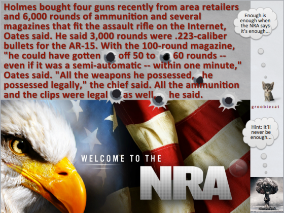 Welcome to the NRA